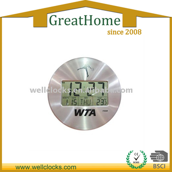 Large Display Ajanta Digital Wall Clock Models Buy Ajanta Digital