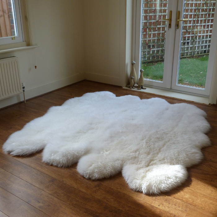 Pure Thick Sheep Wool Blanket For Sale