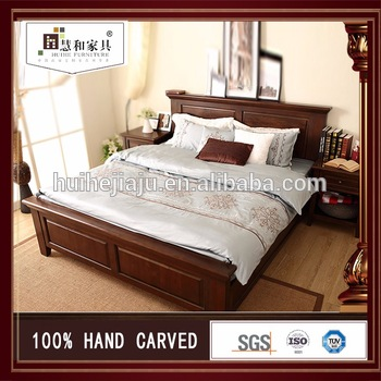 Customized Factory Price Latest Double Bed Designs Teak Wood Buy