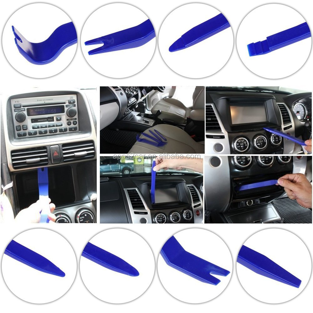 4pc Car Stereo Radio Removal Tool Keys Kit for Mercedes/BMW/VW/Audi/Ford