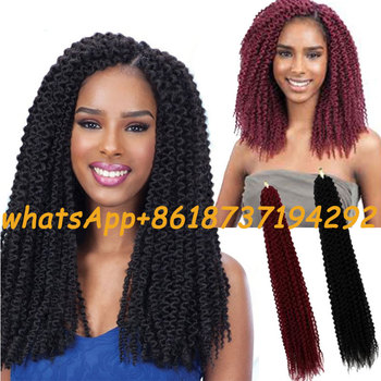 22island Twist Havana Kinky Curly Twist Fiber Synthetic Crochet