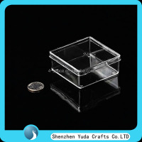 Factory Acrylic Clear Giftware Package Box Plastic Cube Box for Sale