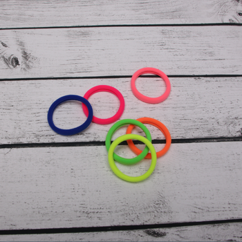 Nylon Ponytail Holder Elastic Hair Tie Rope Ring Rubber Band - Buy ... 7729c088123