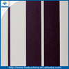 Hundreds cilors strip pattern PVC artificial leather for bags making