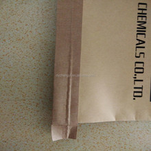 kraft paper and poly plastic woven packaging bags for flour