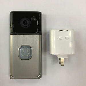 New model 720P H.264 smart IP video doorbell/ WiFi doorbell phone with Micro SD fully Duplex Intercom IR