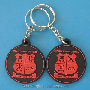 Custom 2d 2 Sides PVC Keychains/Soft PVC Key Chains/Key Chains for Promotional Gift