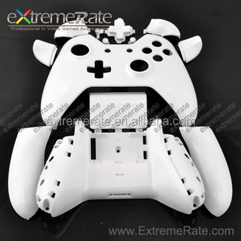 Replacement Customized Polished White Housing For Xbox One Controller Shell  With Analog Stick Thumb Rt/lt Rb/lb Buttons Kits - Buy Housing For Xbox