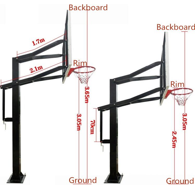 Nba Basketball Ring Height