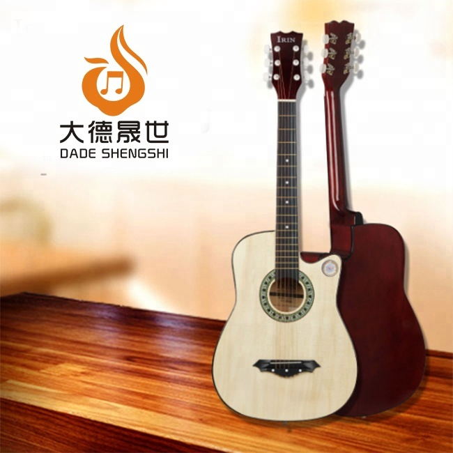 Grande Fabricante JYAG-E110 38 Polegadas Acoustic Guitar Preço Made In China