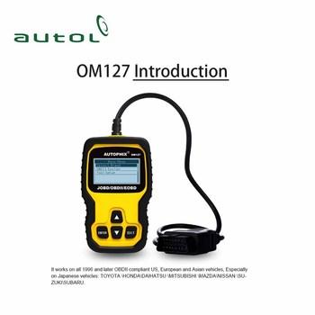 Support All Obd Ii Protocols Autophix Om127 Car Scanner Engine Analyzer  Om217 Obd 2 Scan Tool - Buy Obd 2 Scan Tool,Obd Car Scanner,Autophix Om127