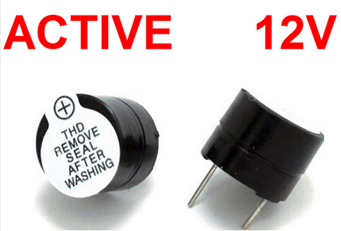 Active Buzzer 12V Magnetic Long Continous Beep Tone 12*9.5mm