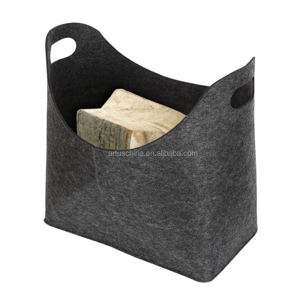 estimé panier pour le bois de chauffage,cheminée en bois panier