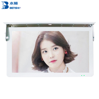 Good reputation manufacturer 15 inch LCD screen bus TV USB player display advertising