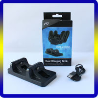 New dual USB charger for PS4 controller charging stand for playstation 4