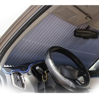 Car Window Shade / Cling Sunshade for Car Windows / Sun , Glare and UV Rays Protection Side Window Car Sun Shades