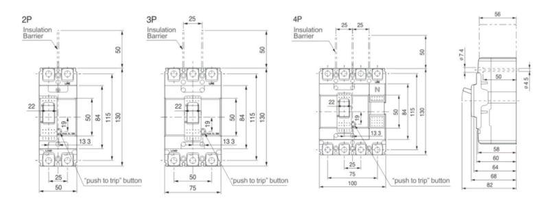 abn103 circuit breaker mccb