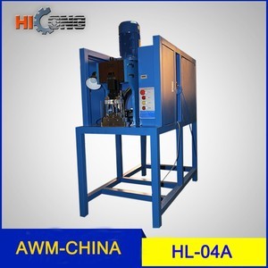 3-pin socket plug insertion machine HL-04A equipped with protective unit