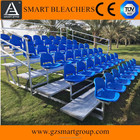 Outdoor stadium bleachers,football grandstand with plastic seat for sale