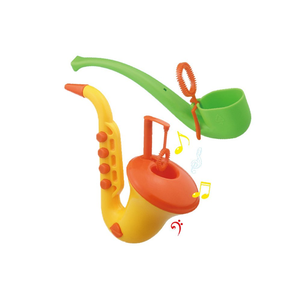 ZHENDUO Set of 2 Adorable Bubbles Pipe Bubble Pipe | Bubble Wands | Bubbles for Kids | Fun, Colorful, Outdoor, Camping, Summer Toy | No Liquid Include