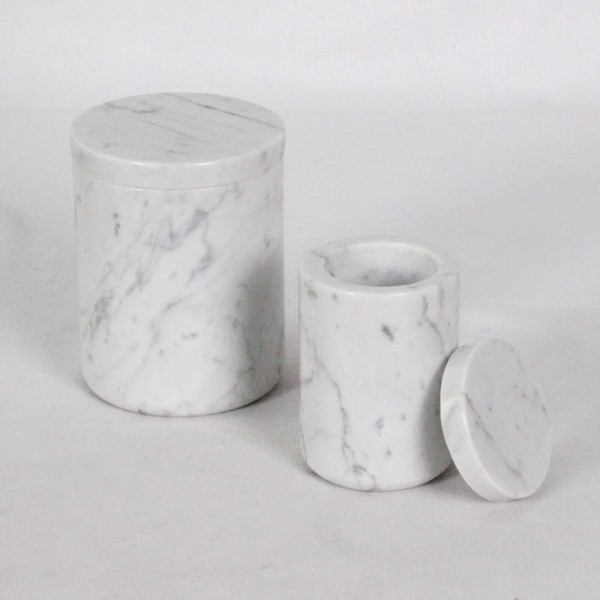 High Volume Storage Concrete Canister For Sugar Cookies