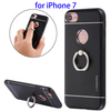 TPU Protective Case for iPhone 7, Ring Holder Cover Case for iPhone 7 Back Cover