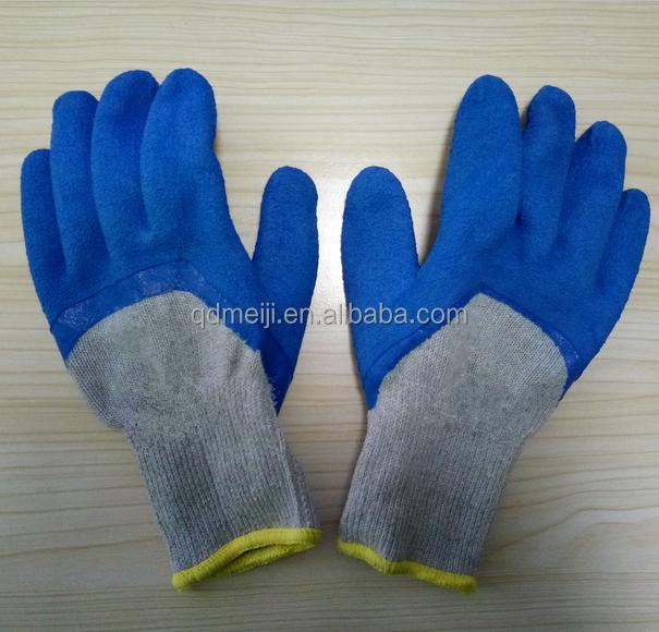 weiches licht grau latex schaum winter handschuhe sicherheitshandschuhe produkt id 60557426008. Black Bedroom Furniture Sets. Home Design Ideas
