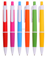 multicolor beautiful shape click ball pen school supplies wholesale best christmas gift bic pen with low minimum order