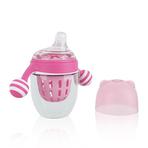 BPA free two handles wide mouth 240ml PPSU lollipop design sippy training baby cup