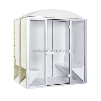 Outdoor Two Person Portable Sauna Steam Room With Steam Generator ...