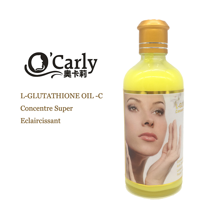 Moisturizing facial glutathione ageless whitening collagen serum for face
