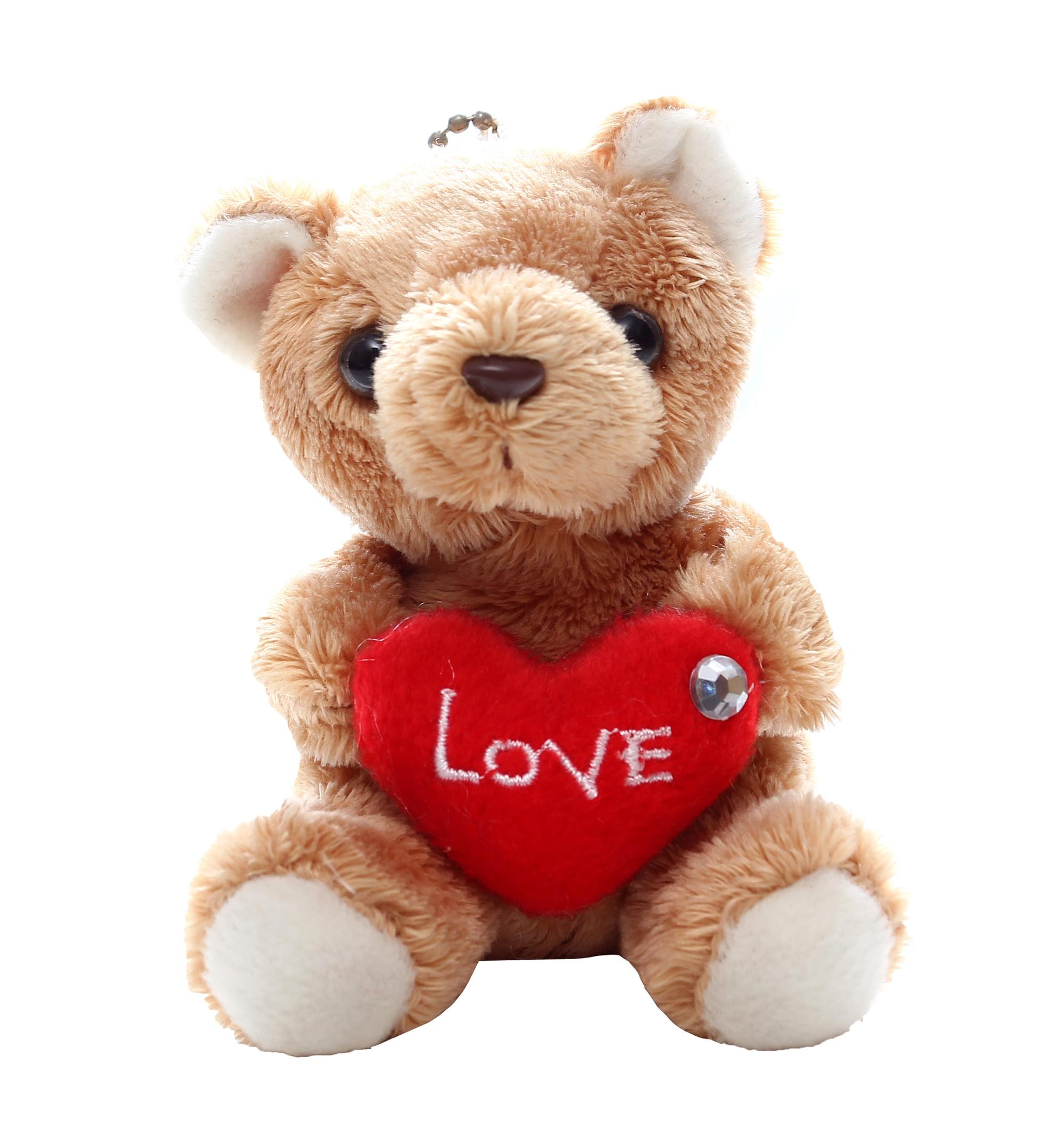 plush pink bear i love you teddy bear gifts for valentine day - buy