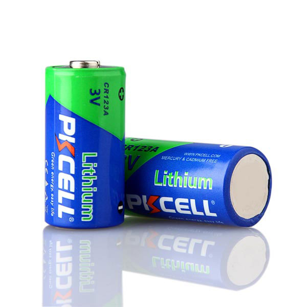 Lithium battery cr123a disposable batteries batteries made for Avantage batterie lithium ion