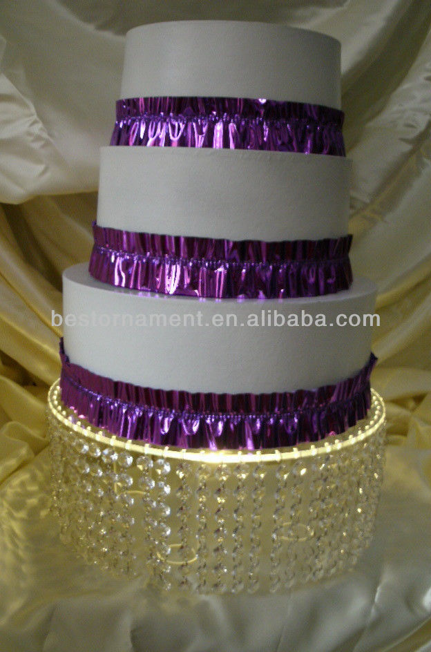 Crystal Chandelier Wedding Cake Stand India Horse And Carriage Lighted Acrylic Product On