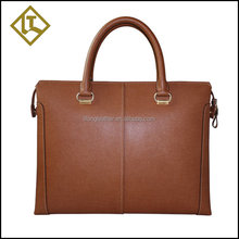 guangzhou personalized genuine men leather briefcase
