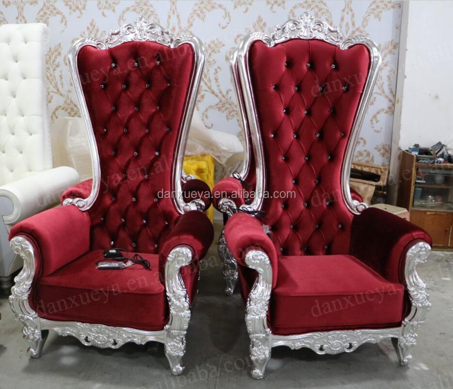 Danxueya Fancy Boda De Cuero Silla/sillas Vintage/sofá De Respaldo ...