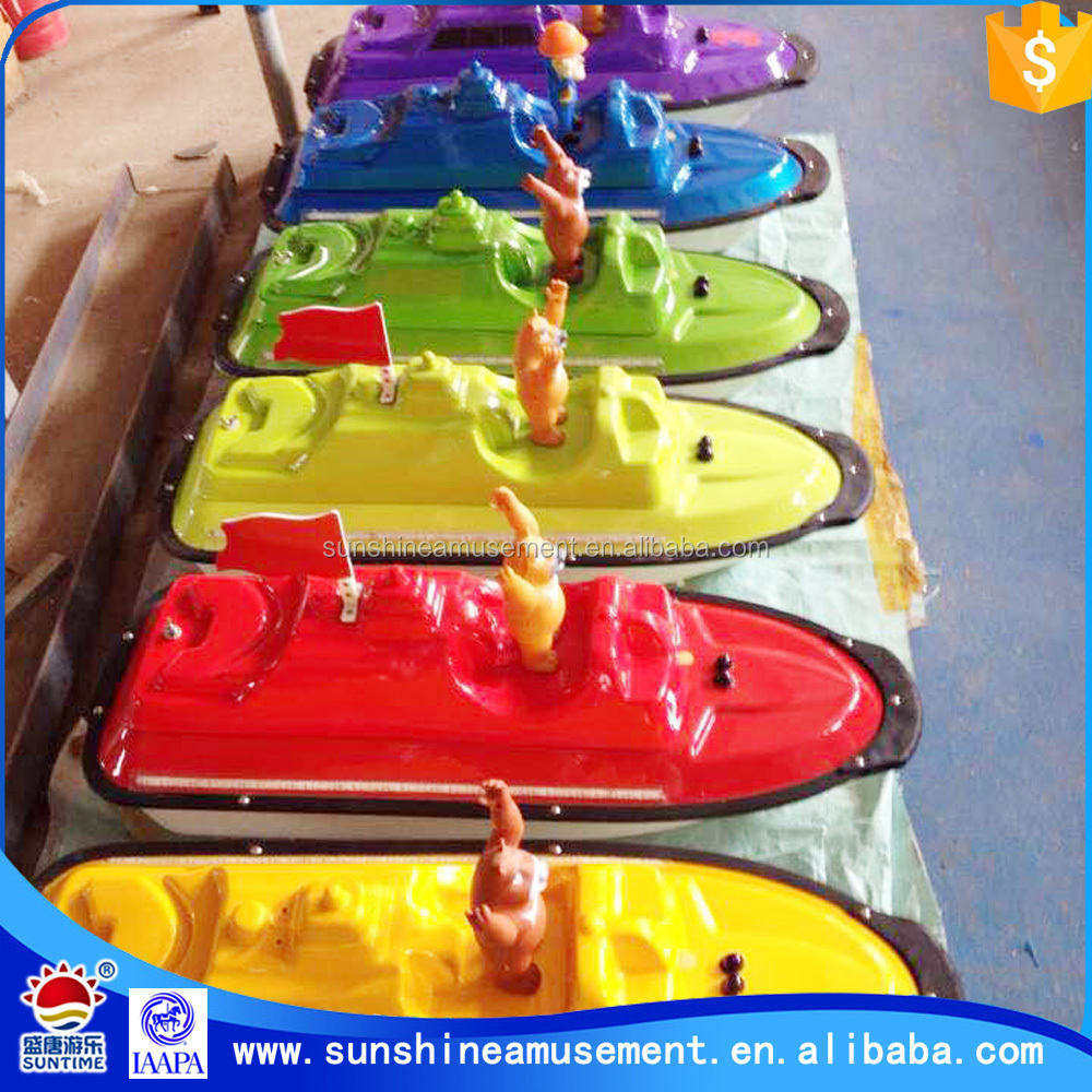 new machine 2015 China radio controlled plastic model boats for sale