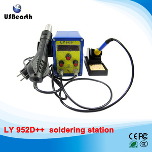 LY 952D++ lead-free BGA soldering station hot air 2 in 1 multifunctional SMD welder