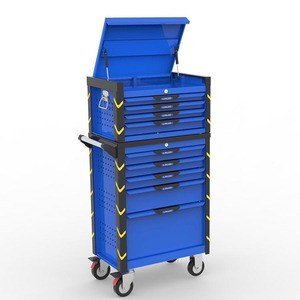 Professional 27 wide with 5 drawers metal tool trolly