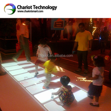 Interactive Game, 3D hologram Interactive Floor/Wall Projection tiles System with 60 effects for kids play,shopping mall.