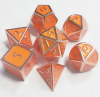 Orange with copper number