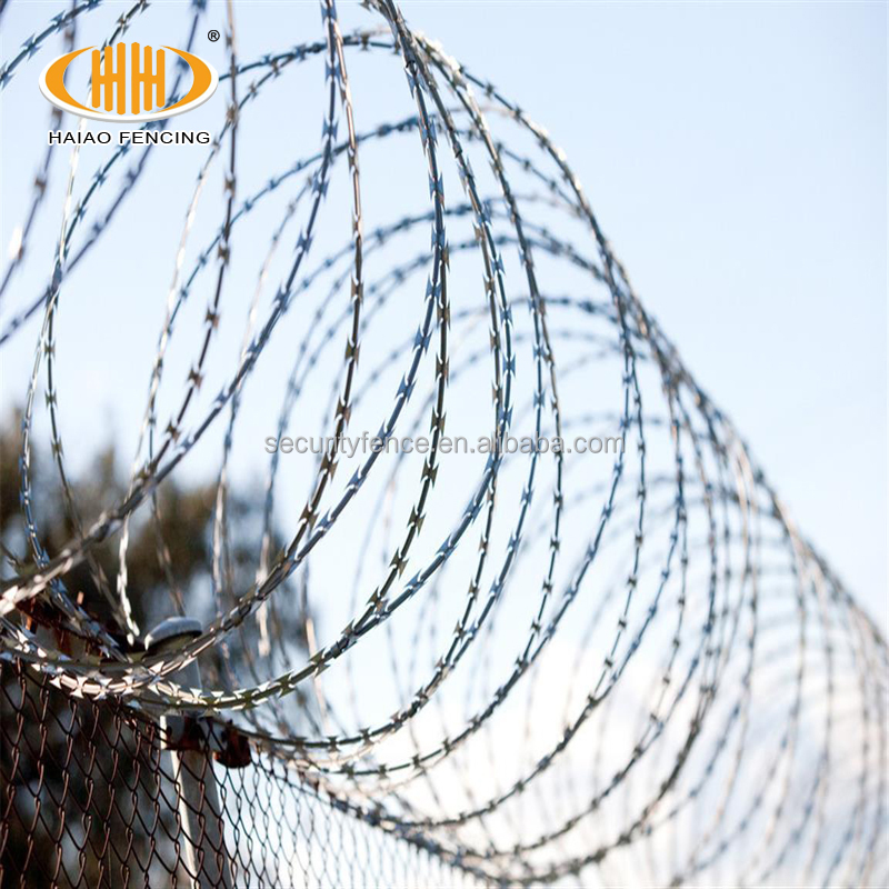 Wholesale High Security Razor Barbed Wire Specification - Buy Razor ...