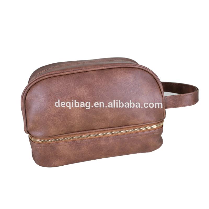 4459be5782af Leather Toiletry Bag Men Travel Toiletry Organizer Shaving Dopp Kit For  Business Trips Vacations Sport - Buy Leather Toiletry Bag,Leather Toiletry  Bag ...