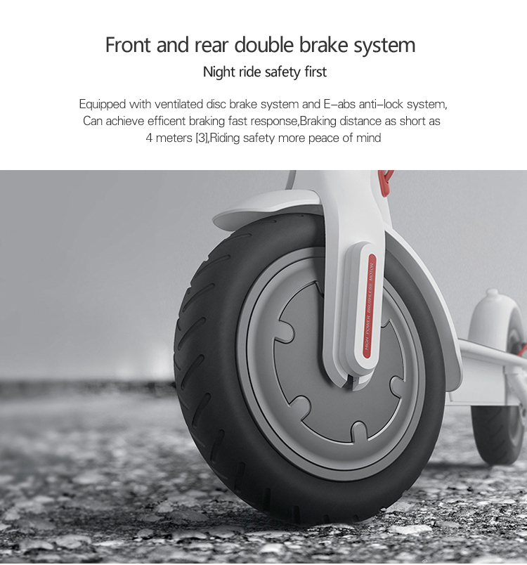 Manke factory produced 8.5 inch electric scooter self balance folding e scooter with disc brake