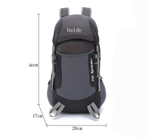 2017 Amazon hot sale New arrival lightweight foldable nylon hydration backpack wholesale