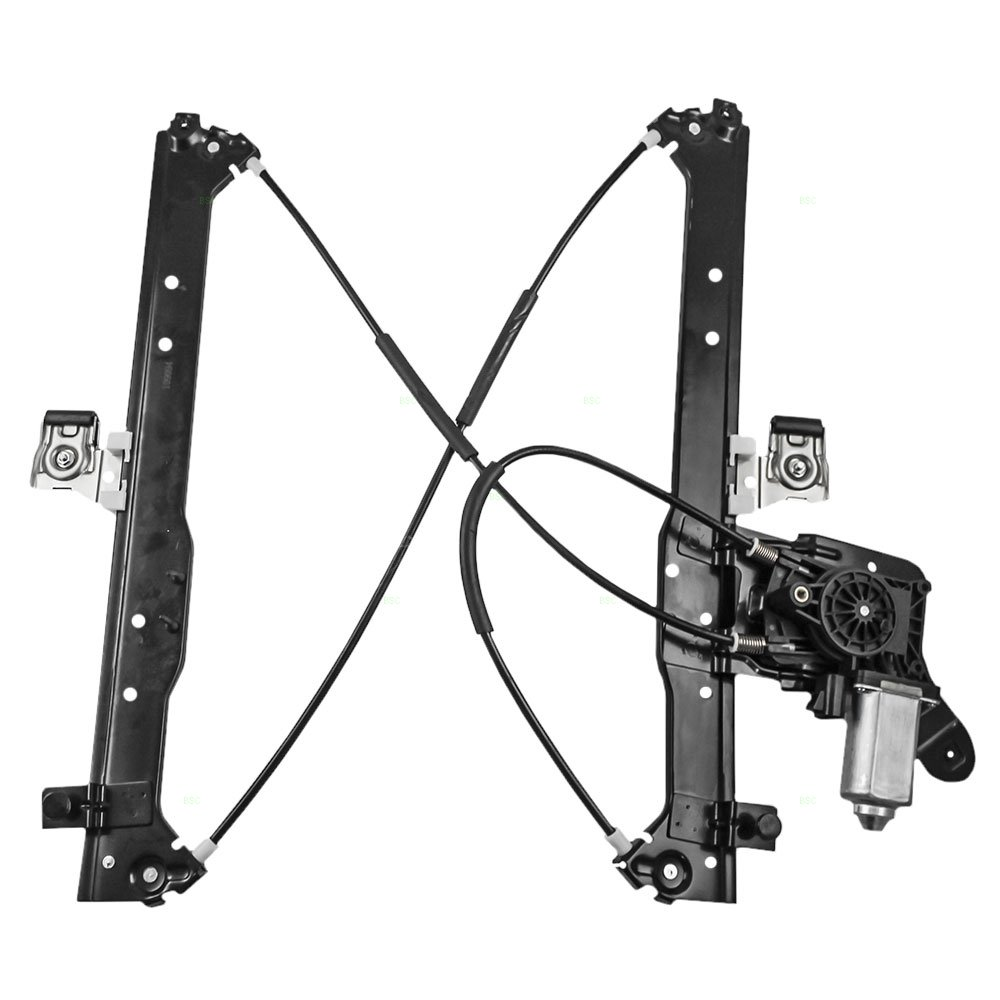 Drivers Manual Window Lift Regulator Assembly Replacement for Chevrolet GMC Pickup Truck SUV 14027431