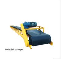 Unique mining equipment stone belt conveyor