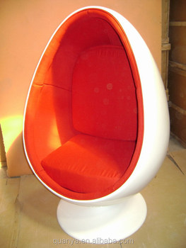 Egg Pod Chair With Speakers White High Quality Fibergl Sofa
