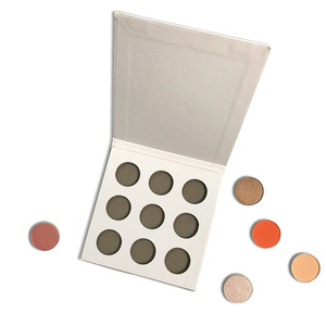 High Quality Private Label Cosmetics Makeup 4/9/12 holes Eyeshadow Palette