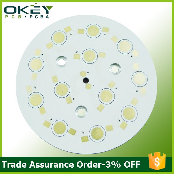 12w,15w,18w,20w OEM aluminum round emergency light led light pcb